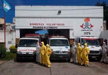 Equipos de protección personal para los bomberos