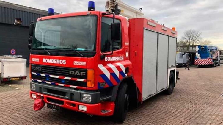Bomberos adquirió dos nuevas unidades que llegan de Holanda