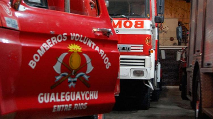 Bomberos Voluntarios de Entre Ríos tendrán su propia mutual