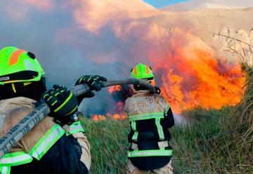 Incendio en Comuna de Camarones Afectó Unas 15 Hectáreas