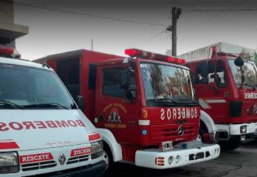 Un bombero de Longchamps fue internado por síntomas de COVID