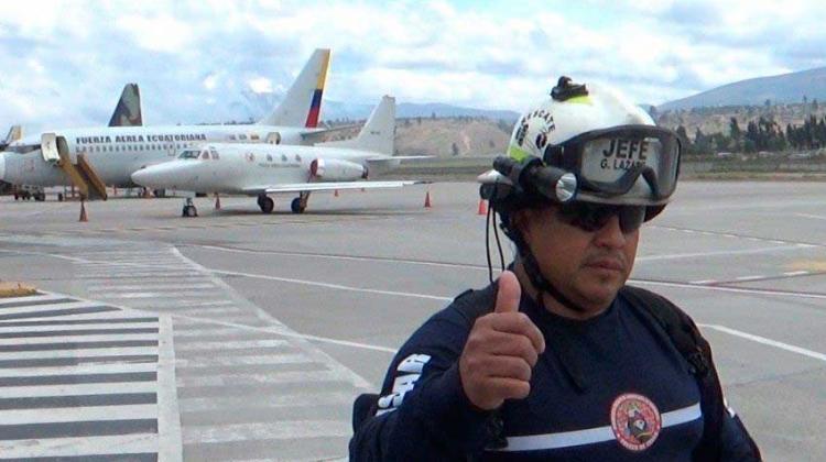 Bombero de Guayaquil pierde su batalla ante el COVID-19