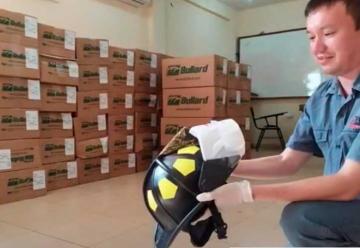 Bomberos Voluntarios de Encarnación estrenará cascos
