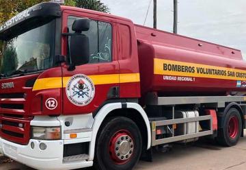 Bomberos de San Cristóbal adquirieron un nuevo cisterna