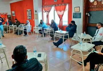 Reunión para avanzar con la Ley de Bomberos Voluntarios