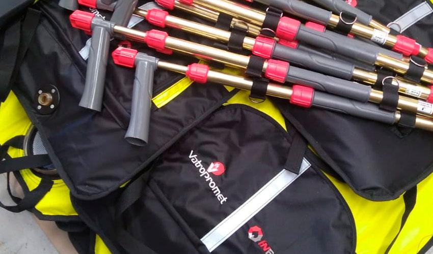 Productos Argentinos contra incendios exportados a Croacia