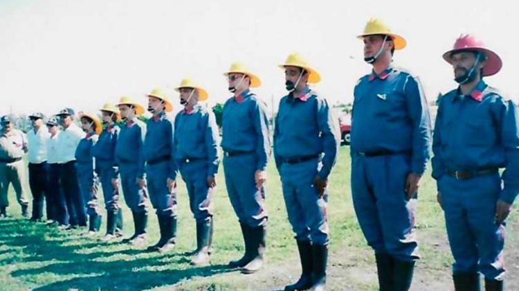 Bomberos Voluntarios de Pavón celebran 25 años de vida