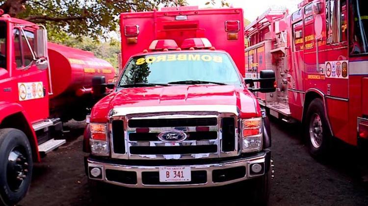 Inauguran estación de bomberos número 86 de Nicaragua