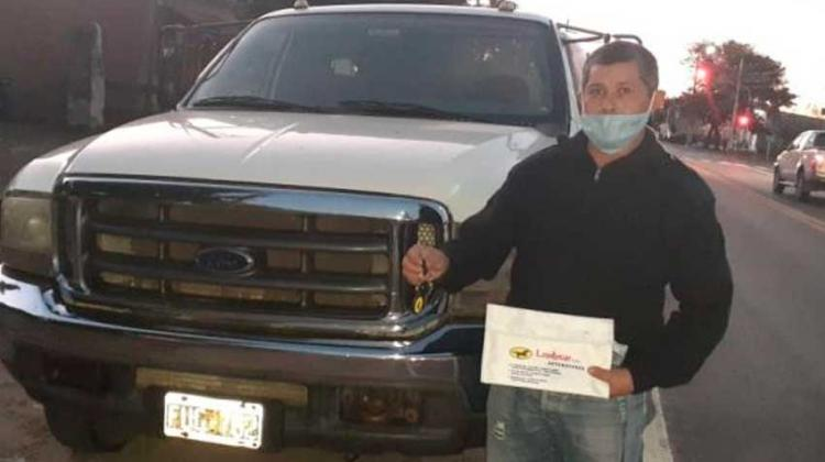 Bomberos de Pueblo Libertador adquiere un camión Ford 4000