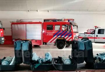 Bomberos adquirió seis equipos de respiración autónoma