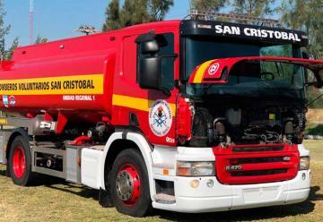 Bomberos de San Cristóbal sumó un camión cisterna