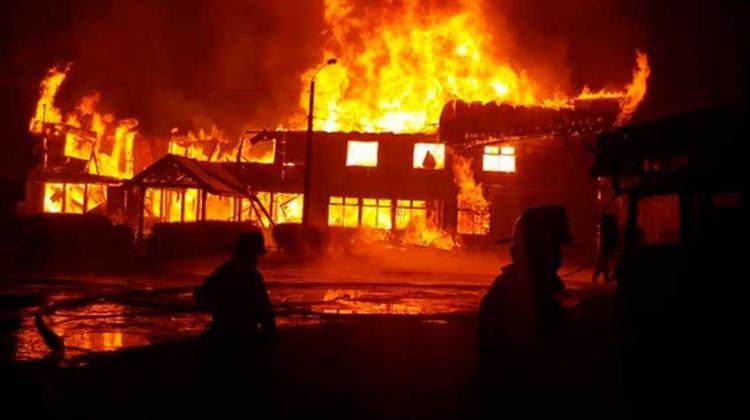 Incendio destruye hogar de menores en Osorno