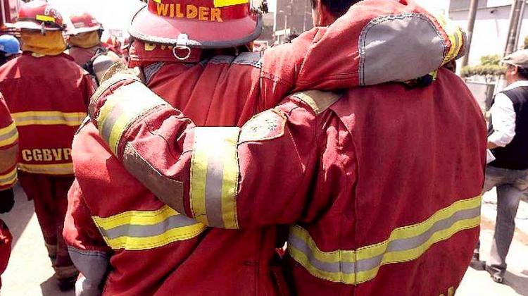 460 bomberos se encuentran infectados con coronavirus a nivel nacional
