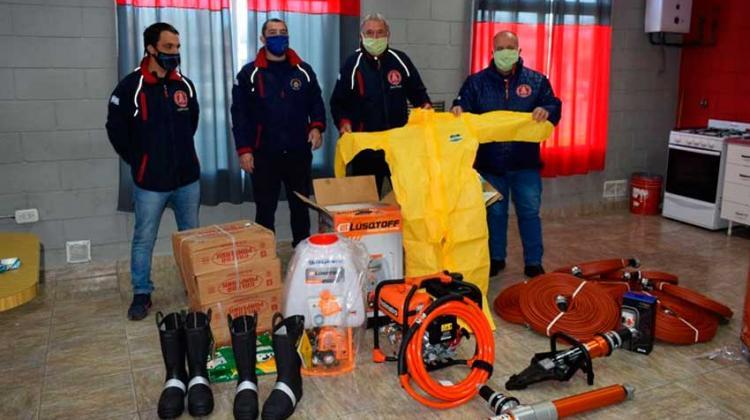Bomberos Voluntarios de Rojas adquirió nuevos equipamientos