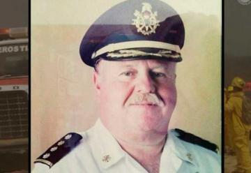 Bomberos Tijuana de luto por fallecimiento del capitán Carlos Gopar