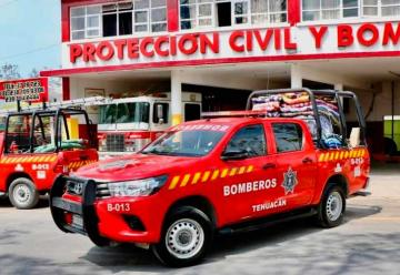 Dos elementos de Bomberos de Tehuacán podrían tener coronavirus