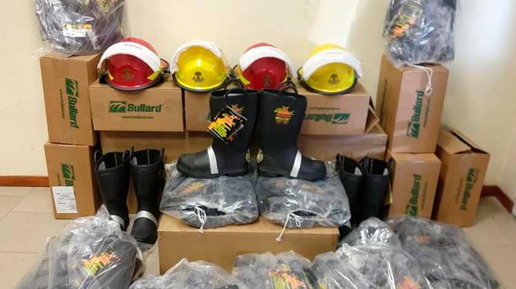 Nuevo equipamiento para Bomberos de Ezeiza