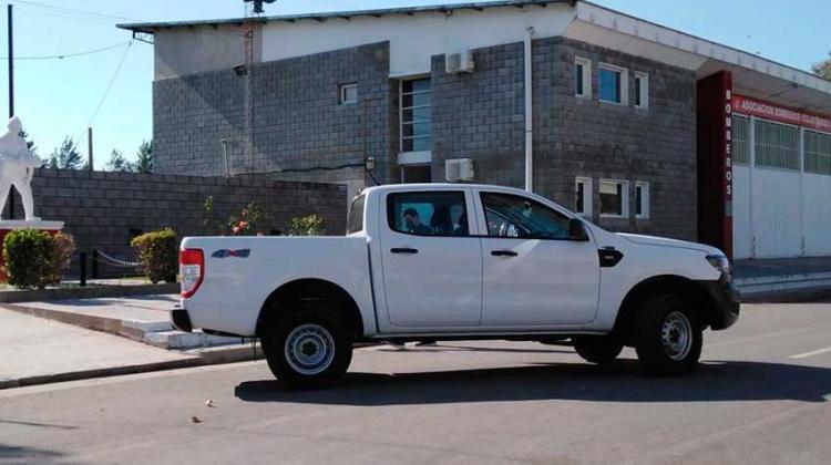 Bomberos Voluntarios de Moquehua con nuevo móvil