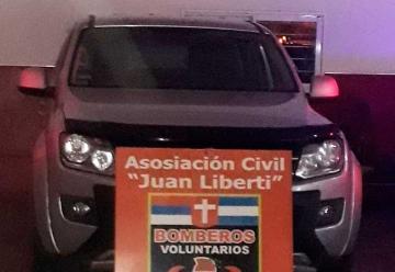 Bomberos Voluntarios Candelaria con nueva camioneta