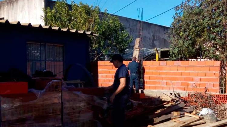 Bomberos Voluntarios de Chajarí mejoran su cuartel