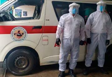 Bomberos cierran instalaciones en Ayutla por contagio de coronavirus