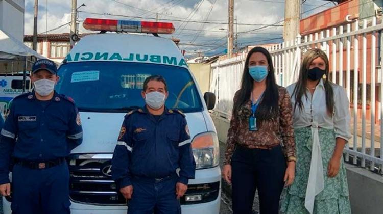 Bomberos Voluntarios de Circasia ya cuentan con ambulancia