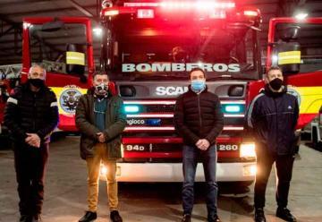 Nueva autobomba para Bomberos de Varela