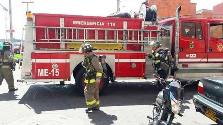 Ocho casos de coronavirus en el Cuerpo de Bomberos de Bogotá