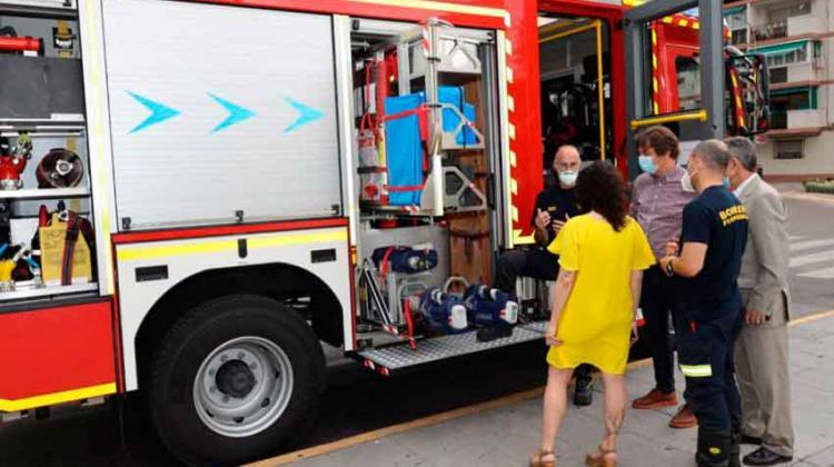 Un nuevo camión de bomberos para Fuenlabrada