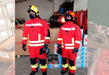 Bomberos Voluntarios de Rauch presentó nueva indumentaria
