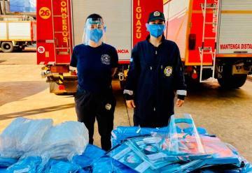 Bomberos Voluntarios de Iguazú recibieron una importante donación