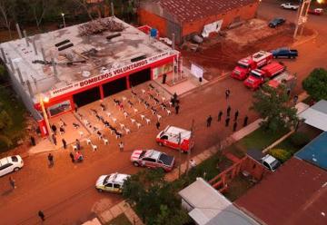 Bomberos de Dos de Mayo inauguraron su nuevo cuartel