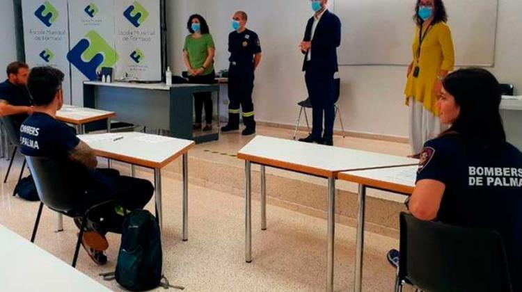 Futuros bomberos de Palma comienzan su curso de formación