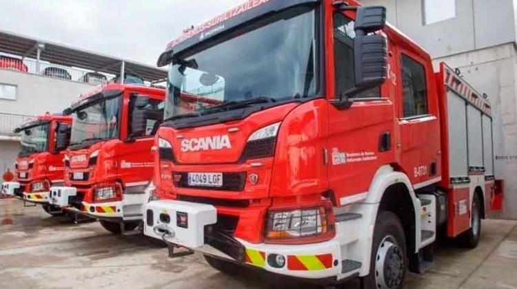 Bomberos de Navarra con nuevos vehículos