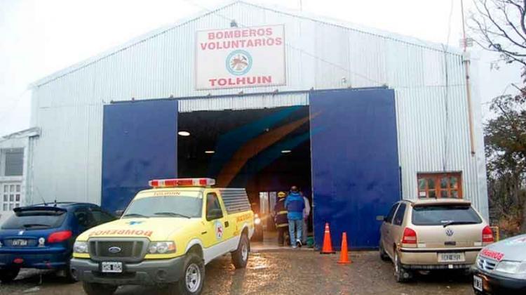 Gobierno intervino a los bomberos voluntarios de Tolhuin