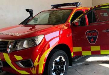 Nuevo vehículo para los bomberos de Los Alcázares
