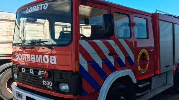 Bomberos Voluntarios de Loreto quedaron sin autobomba