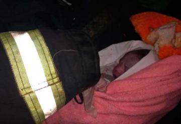 Bomberos de Gobernador Roca ayudaron a una mamá a dar a luz