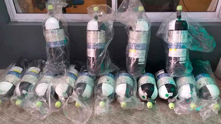 Bomberos de Ezeiza con nuevos equipos de protección