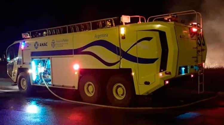 ANAC destacó el trabajo de los bomberos aeroportuarios