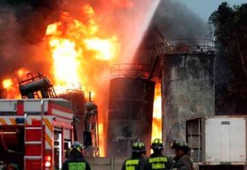 Los incendios industriales