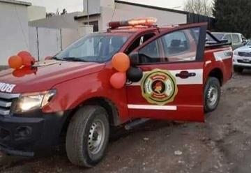 Bomberos de Comallo adquirieron una camioneta 4×4