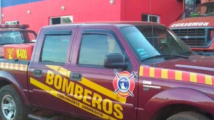 Bomberos adquirieron equipos de protección y un vehiculo