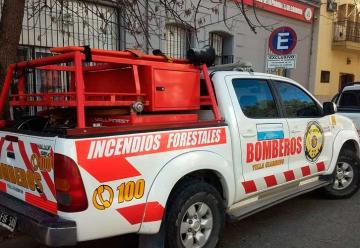 Bomberos de Alejandro Giardino adquirió un Kit Forestal