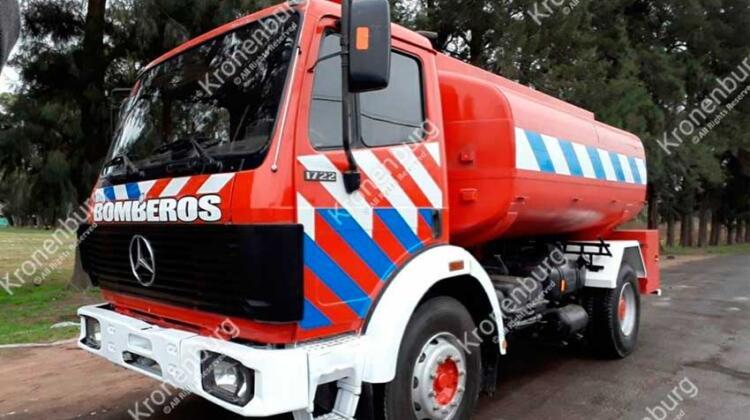 Nueva Unidad de abastecimiento para Bomberos Voluntarios de Villars