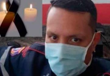 Muere por Covid-19 teniente de los bomberos Juan Lara