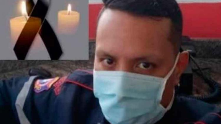Muere por Covid-19 en el HVS teniente de los bomberos Juan Lara