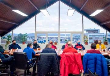 Bomberos se reunieron con el Intendente y definieron una agenda de trabajo