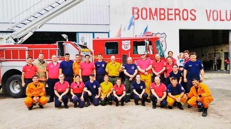 30º aniversario de los Bomberos Voluntarios de General Ramírez