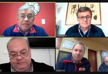 El consejo Nacional realizó una reunión con los Bomberos de La Matanza
